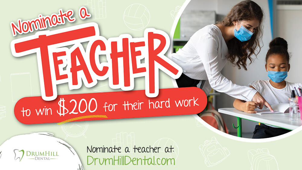Nominate A Teacher Promotional Graphic